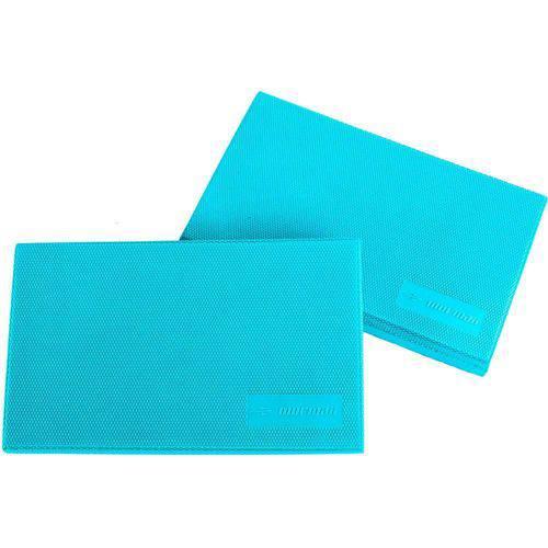 Kit 2 Almofadas de Equilíbrio Balance Pad Mormaii Azul