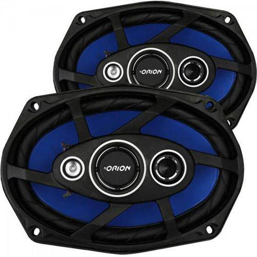 "Kit Alto Falante Quadriaxial 6x9"" 110W Rms 4 Ohms Orion"