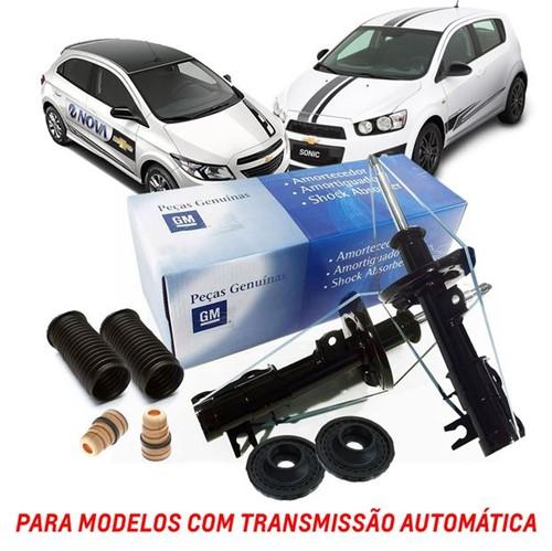 Kit Amortecedor e Batentes Dianteiros [transmissão Automática] Kit152 Prisma /onix /sonic