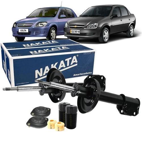 Kit Amortecedor Dianteiro Nakata Corsa Wagon 1997 a 2003