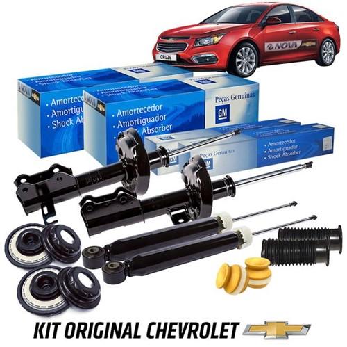 Kit Amortecedores Completo com Batentes Hatch/sedan Kit423 Cruze