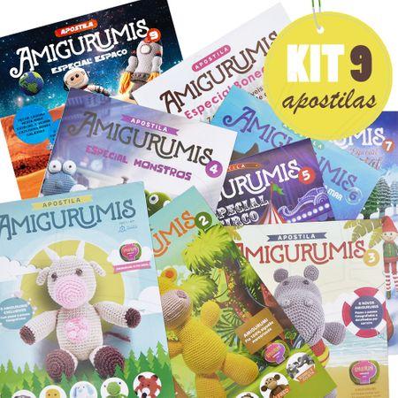 Kit Apostilas Amigurumis - Todas as 9 Apostilas