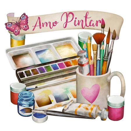 Kit Arte Holandesa Rápida Amo Pintar - AHR-003