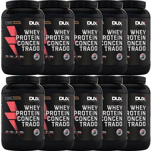 Kit Atacado Revenda Whey Protein Concentrado 900g - Dux