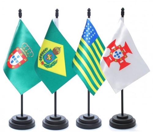 Kit Bandeiras Históricas em ABS KMH5656
