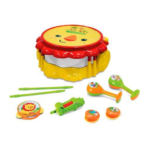 Kit Bandinha Leão Fisher Price - Fun