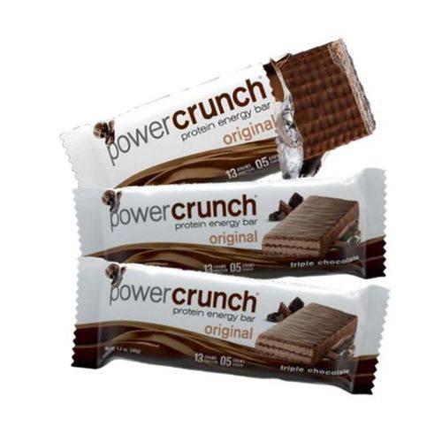 Kit 3 Barras Proteína Power Crunch Triple Chocolate (un 40g) Bnrg