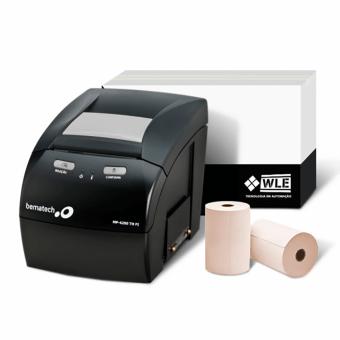 Kit Bobina 80X40+Impressora Bematech MP-4200 TH FI   Automação Global
