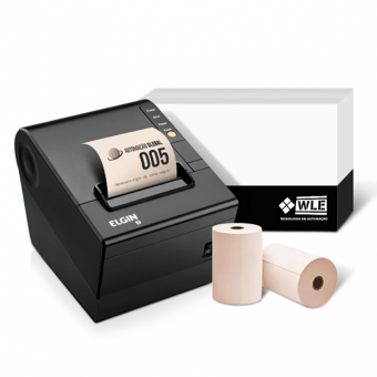 Kit Bobina 80X40+Impressora Elgin I9 USB | Automação Global