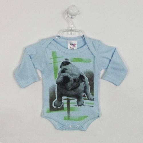 Kit Body Bebê Masculino Manga Longa e Curta Suedine Estampas Divertidas