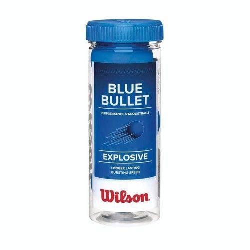 Kit 3 Bolas Frescobol Wilson Blue Bullet
