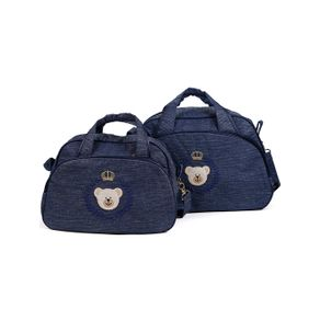 Kit Bolsa Maternidade Azul