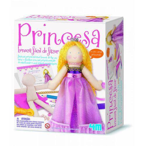 Kit Boneca Princesa - 4m - Brinquedo Educativo