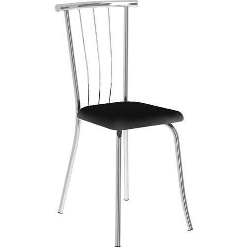 Kit 2 Cadeiras 154 Napa Móveis Carraro Preto