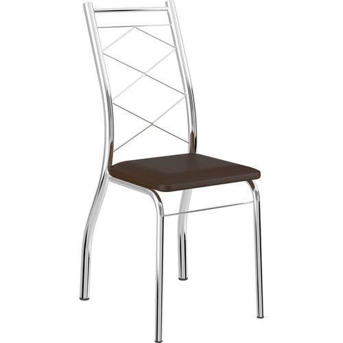 Kit 2 Cadeiras 1710 Napa Móveis Carraro Marrom