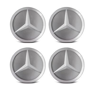 Kit Calota Centro da Roda Mercedes Classe a e Sprinter Prata