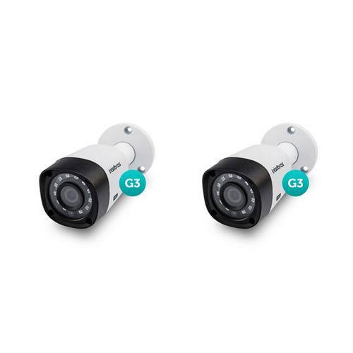 Kit 2 Câmeras Multi Hd Hdcvi 1 Mega Vhd 3120 B G3 Intelbras