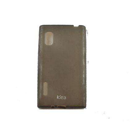 Kit Capa+Pelicula Lg L5 E612 Preto - Idea