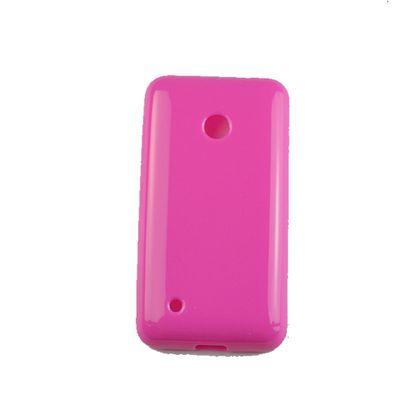 Kit Capa + Pelicula Nokia 530 Tpu Rosa