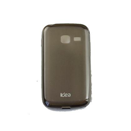 Kit Capa+Pelicula Samsung Galaxy Duos S6102 Preto - Idea