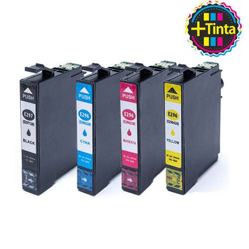 Kit Cartucho Epson T2971, T2962, T2963 e T2964 Compativel