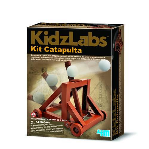 Kit Catapulta - 4m - Brinquedo Educativo