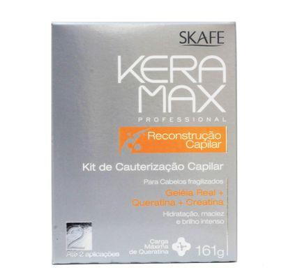 Kit Cauterização Reconstrução Capilar Keramax 161g - Skafe