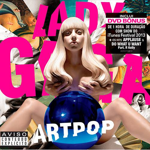 Kit CD + DVD Bônus Lady Gaga - Artpop (Deluxe Edition)