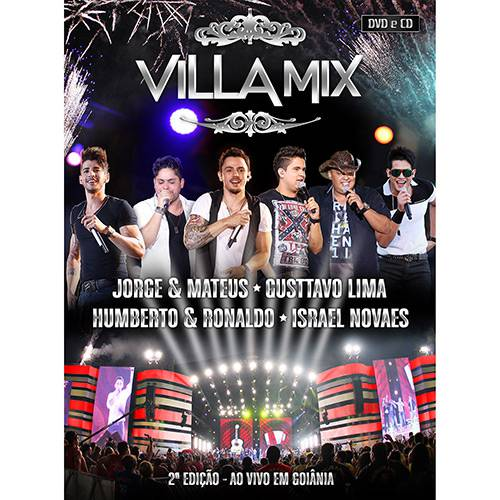 Kit CD/DVD Villa Mix