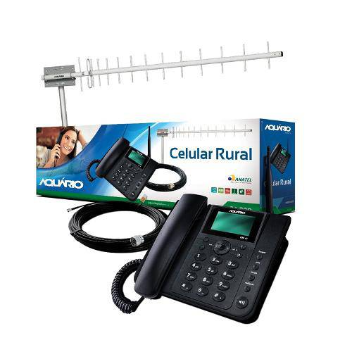 Kit Celular Rural Aquario Ca-802 Dual Chip