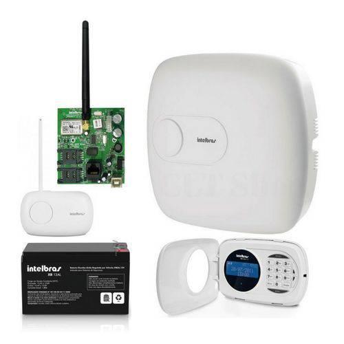 Kit Central Alarme Amt 4010 Smart Intelbras Acessorios Kit 4