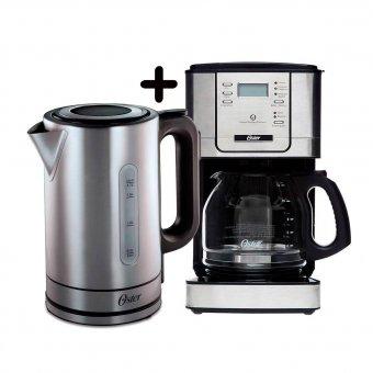 Kit Chaleira 8970+Cafeteira 4401 Oster 127V | Automação Global