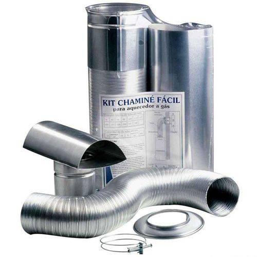 Kit Chaminé Facil D.80X1,5MT - 03006000005 - WESTAFLEX