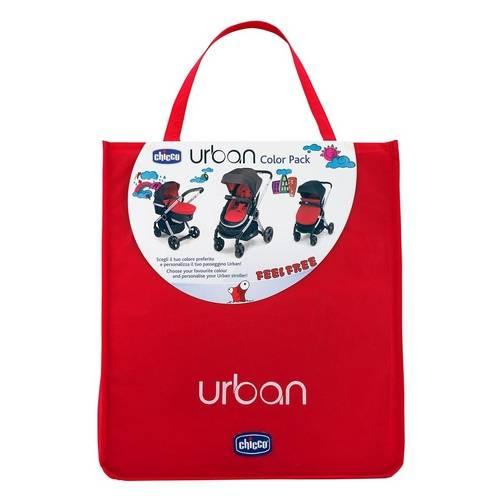 Kit Chicco Color Pack para Carrinho Urban - Red Wave