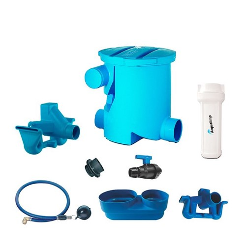Kit Cisterna Água de Chuva 2800L Á 5000L - Acqualimp - Acqualimp