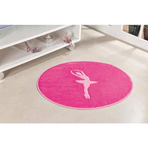 Tapete Infantil para Quarto de Menina Bailarina Pink 78cm