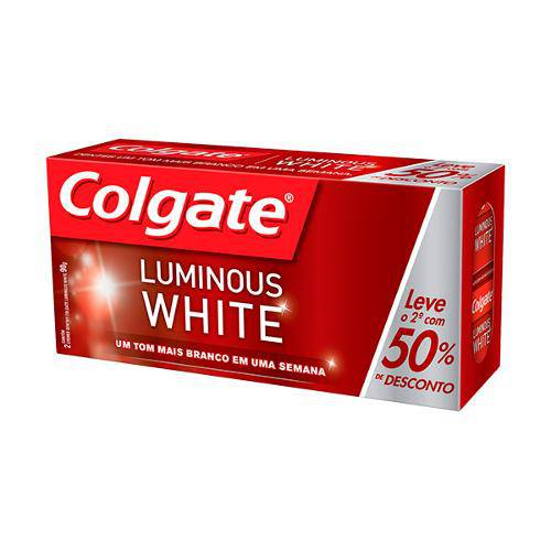 Kit Colgate Creme Dental Luminous White