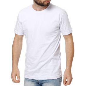 Kit com 02 Camisetas Manga Curta Masculina Elétron Branco/azul Marinho GG