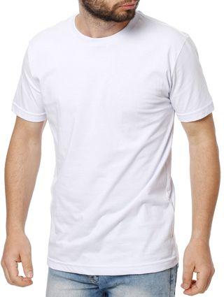 Kit com 02 Camisetas Manga Curta Masculina Elétron Branco/azul Marinho