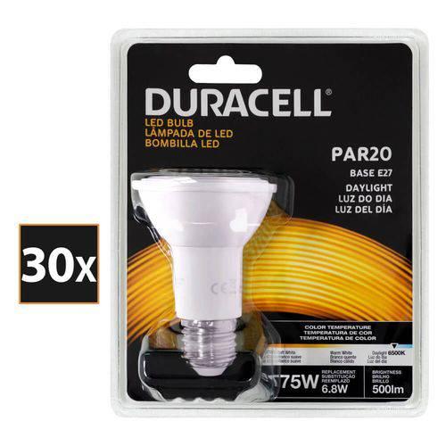 Kit com 30 Lâmpadas Led Duracell PAR20 Branca 6.8W - Duracell