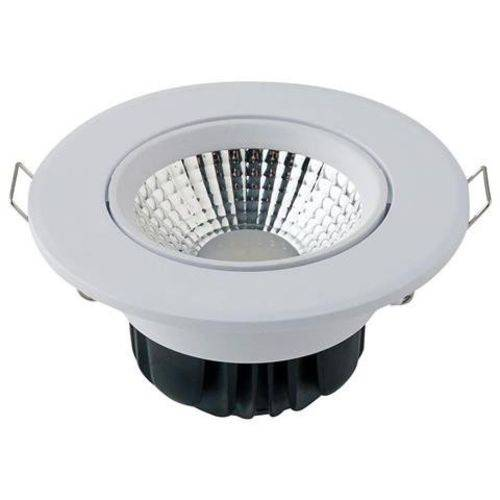 Kit com 20 Spot LED Embutir PP - 5W - 4000K - Branco Neutro Redondo - Startec