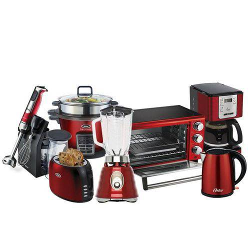 Kit Completo Red Kitchen Oster 127v