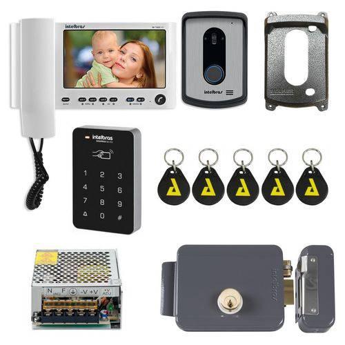 Kit Controle de Acesso Residencial Completo Senha Intelbras