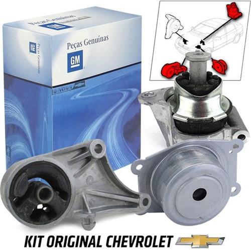Kit 3 Coxim do Motor 8v + Câmbio Manual Kit542b Astra /vectra /zafir