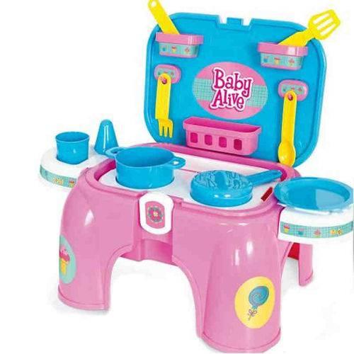 Kit Cozinha Baby Alive Hasbro