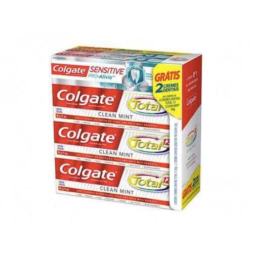 Kit Creme Dental Total 12 com 6 Unidades - Colgate