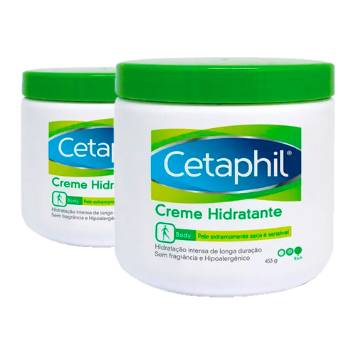 Kit Creme Hidratante Cetaphil 453g 2 Unidades