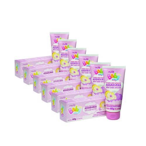 Kit Creme para Assadura Muriel com 6 Unidades Baby Menina