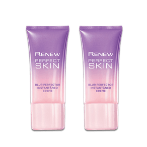 Kit Creme Renew Perfect Skin Blur Perfector Instantâneo 30g