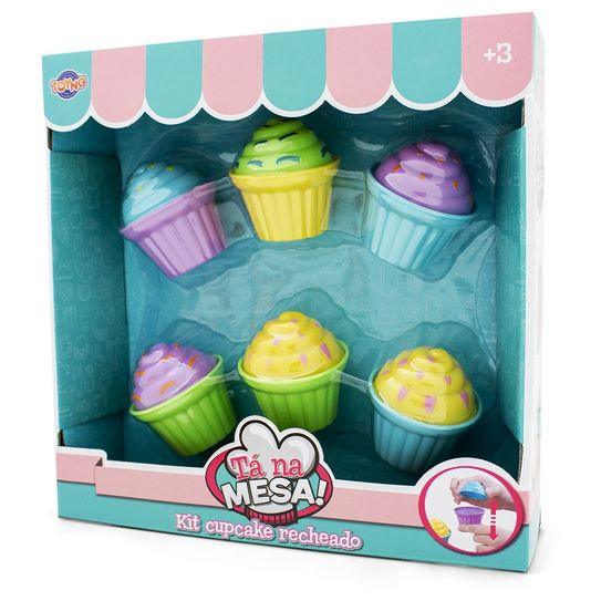 Kit Cupcake - Tá na Mesa